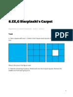 6.EE.a.1 Sierpinski s Carpet