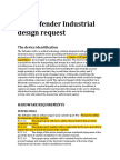 Industrial Design Request