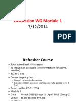 Discussion 7.12.2014