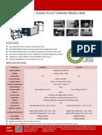 Lanyard Rotary Heat Press Calender Easty Eurotec ELT Heat Transfer Printing Machine