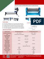 EP-1700 EM-1700 easty pneumatic laminator