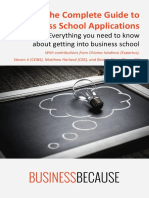 BusinessBecause - The Complete Guide to Business School Applications