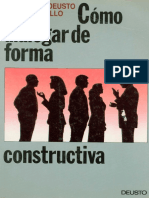 Como Dialogar de Forma Constructiva