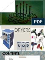 selection of drying equipment