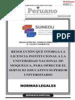 RESOLUCION N° 103-2017-SUNEDU/CD