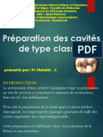Med Dent2an16 Odonto Preparations Cavites Classe1