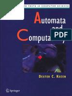 Dexter C. Kozen - Automata and Computability