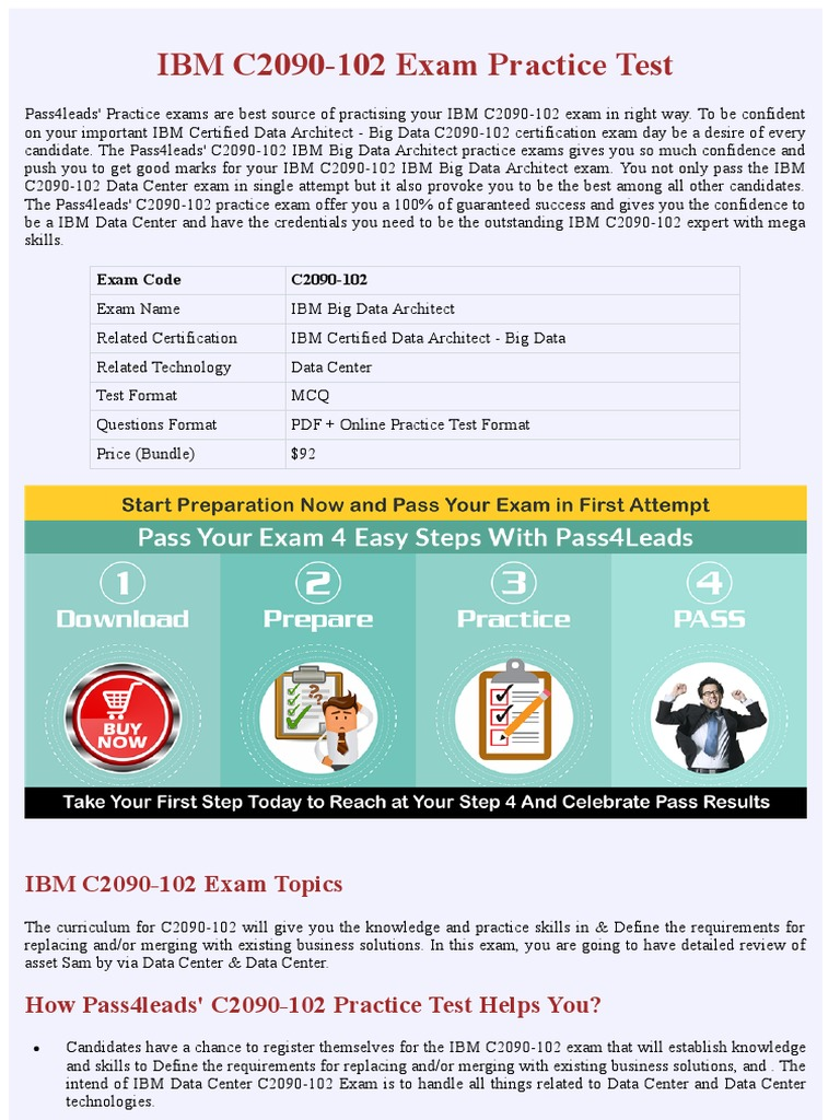 Ibm C2090 102 Data Center Exam Practice Material Apache Hadoop