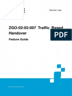 ZGO-02!02!007 Traffic Based Handover Feature Guide ZXUR 9000(V11.2.0)_20121106