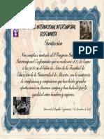 Invitación I Congreso Ecofeminista Internacional Intertemporal