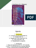 Kant - Fundamentación Para Una Metafísica de Las Costumbres (PPT)