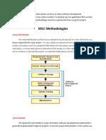 SDLC Methodologies