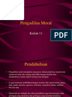 Kuliah 11 - Pengadilan Moral