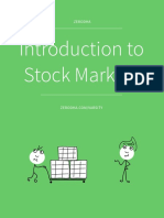 Module 1 Introduction to Stock Markets