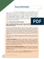 Constitución De Nicaragua