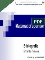 Bibliografie MS