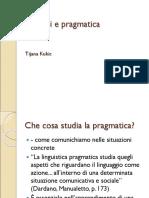 Articoli e Pragmatica Ppt