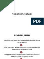 Asidosis metabolik
