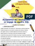 manipulation des données avec SQL