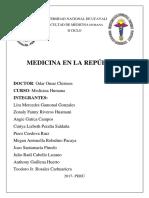 Monografía de La Medicina en La República