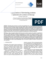 Preene and Loots 2015 Optimisation of Dewateirng Systems