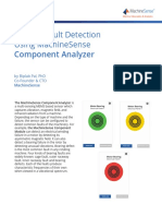 Bearing Fault Detection Using Machinesense Component Analyzer