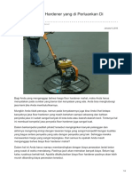 Pekerjaan Floor Hardener Yang Profesional—☎ 0821 1372 4737