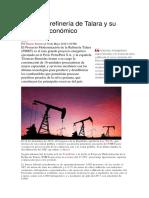 La Nueva Refinería de Talara y Su Impacto Económico