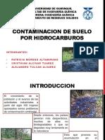 Contaminacion de Suelo Por Hidrocarburos
