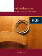 Musical Mathematics Table of Contents