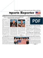 January 10 - 16, 2018  Sports Reporter