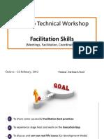 Facilitation Skills OCHA