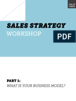 Sales Strategy Workshop
