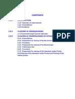 1. Commissioning Procedures