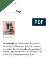 Théodolite — Wikipédia