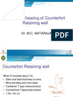 Counterfort Wall_Stability and Toe Slab