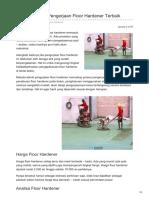 Metode Teknik Pengerjaan Floor Hardener Terbaik—☎ 0821 1372 4737