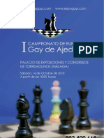 I to de Europa Gay de Ajedrez
