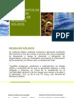 Modulo i. Fundamentos de La Gestion Integral de Residuos Solidos