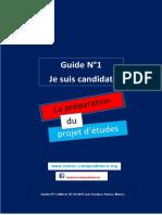 1 Guide Campus  France Maroc 2017-2018- Je prépare mon projet d'études