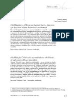 Adultilização Na Infância