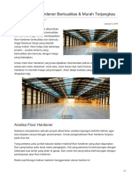 Produk Floor Hardener Berkualitas & Murah Terjangkau—☎ 0821 1372 4737