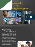 I. Introto Enginnering Management - ADORA