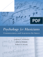 Pshychology for Musicians