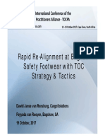 Rapid Re-Alignment at Baghaw Safety Footwear with TOC Strategy & Tactics
