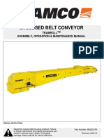 Tramroll Enclosed Belt Conveyor Assembly Operation Maintenance - 900203 r0