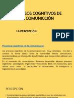 Procesos Cognitivos de La Comunicción