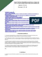 Instrucţiuni Tehnice Pentru Prinderea Şi Montajul Tablelor Metalice Profilate La Executarea Învelitorilor Şi Pereţilor c172-88