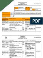 Plan de Unidad Didactica EDUCACION CULTURAL Y ARTISTICA.