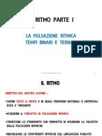 IL RITMO I